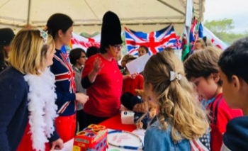Anglo Day at Trois Collines Primary School